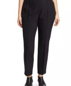 New LAFAYETTE 148 Stretch Gramercy pants 24w black